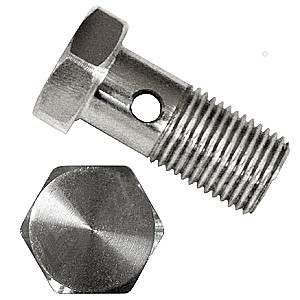Drilled Hex Bolt
